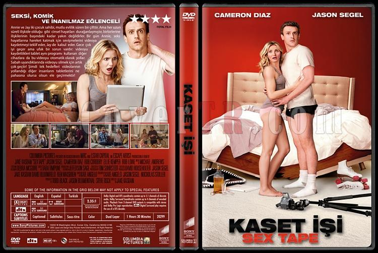 Sex Tape (Kaset İşi) - Custom Dvd Cover - Türkçe [2014]-standardjpg
