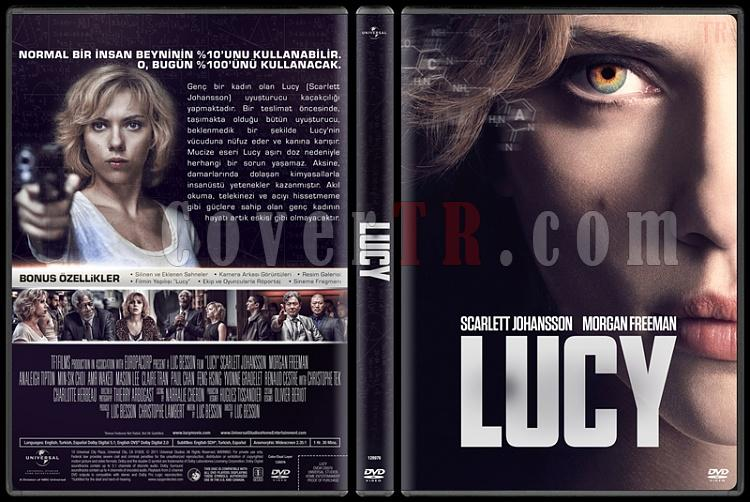 Lucy - Custom Dvd Cover - Türkçe [2014]-covertr-dvdjpg