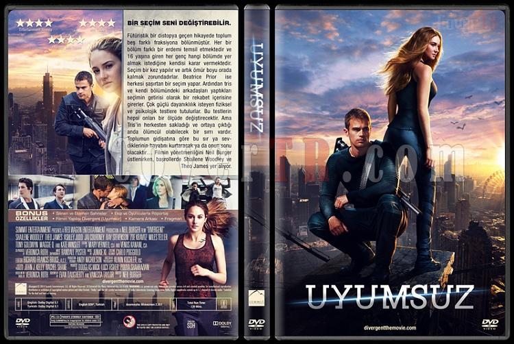 Divergent (Uyumsuz) - Custom Dvd Cover - Türkçe [2014]-covertr-dvd-2jpg
