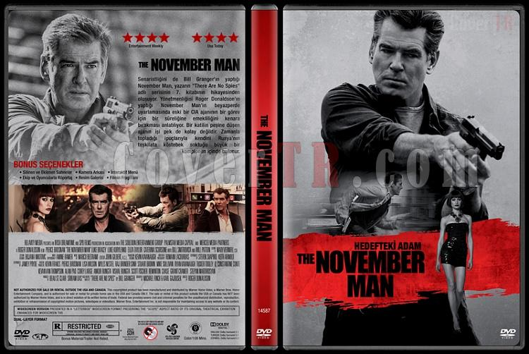 The November Man (Hedefteki Adam) - Custom Dvd Cover - Türkçe [2014]-covertr-dvdjpg