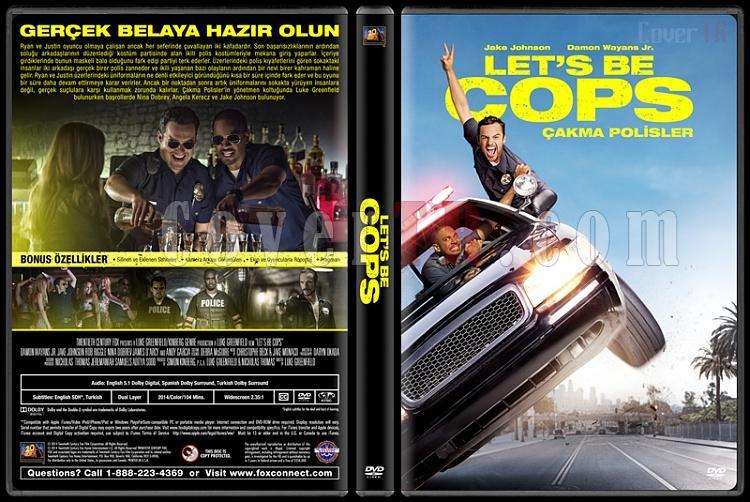 Let's Be Cops (Çakma Polisler) - Custom Dvd Cover - Türkçe [2014]-12jpg