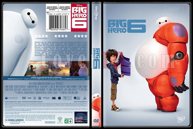 Big Hero 6 (6 Süper Kahraman) - Custom Dvd Cover - Türkçe [2014]-11jpg