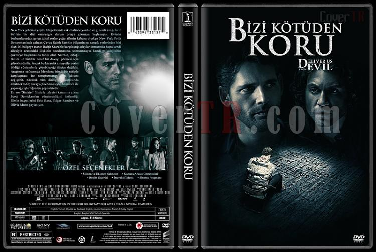 Deliver Us from Evil (Bizi Kötüden Koru) - Custom Dvd Cover - Türkçe [2014]-covertr-dvdjpg