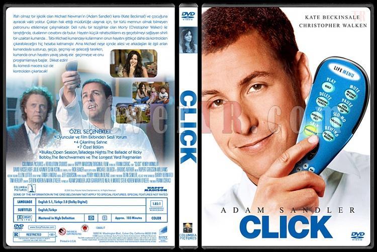 Click (Süper Kumanda) - Custom Dvd Cover - Türkçe [2006]-standardjpg