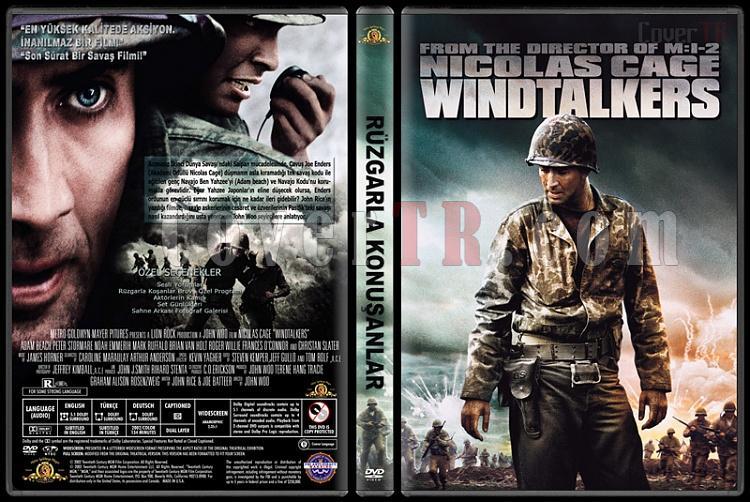 Windtalkers (Rüzgarla Konuşanlar) - Custom Dvd Cover - Türkçe [2002]-standardjpg