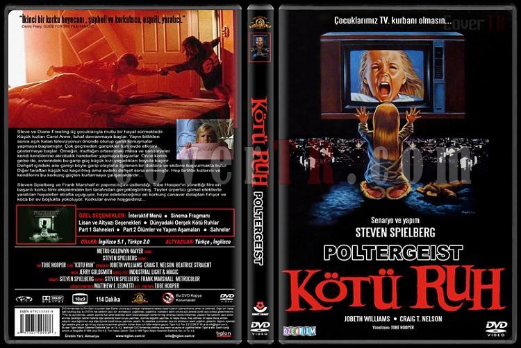 Poltergeist (Kötü Ruh) - Custom Dvd Cover - Türkçe [1982]-standardjpg