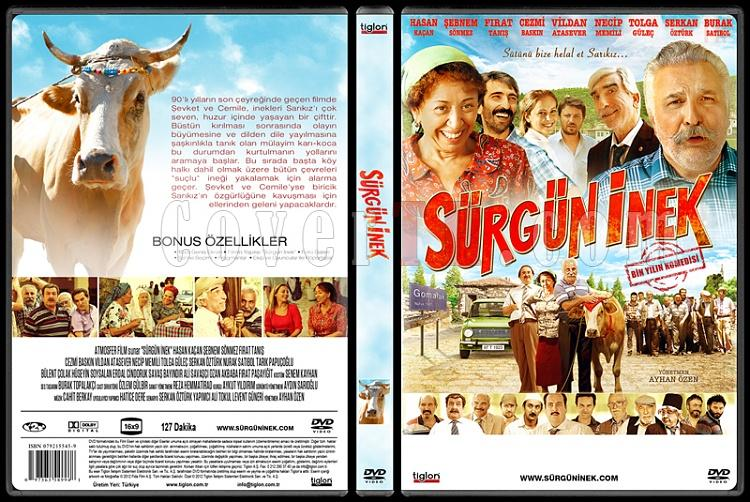Sürgün İnek - Custom Dvd Cover - Türkçe [2014]-covertr-dvdjpg