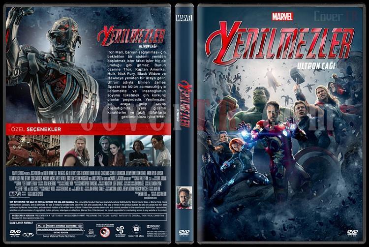 Avengers: Age Of Ultron (Yenilmezler: Ultron Çağı)  - Custom Dvd Cover - Türkçe [2015]-standardjpg
