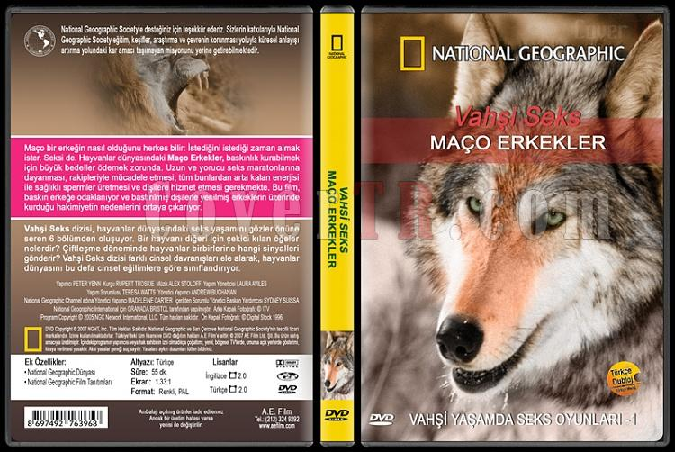 National Geographic: Vahşi Seks 1 - Maço Erkekler - Custom Dvd Cover - English [2007]-national-geographic-vahsi-seks-1-maco-erkeklerjpg