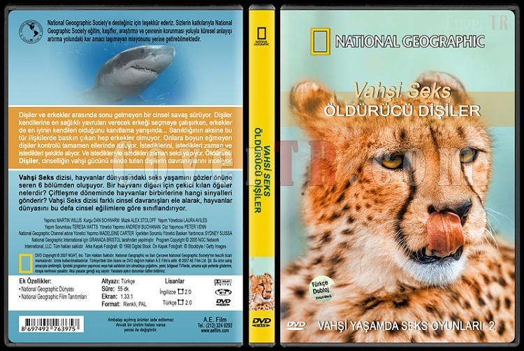 National Geographic: Vahşi Seks 2 - Öldürücü Dişiler - Custom Dvd Cover - English [2007]-national-geographic-vahsi-seks-2-oldurucu-disilerjpg