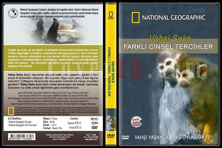 National Geographic: Vahşi Seks 3 - Farklı Cinsel Tercihler - Custom Dvd Cover - English [2007]-national-geographic-vahsi-seks-3-farkli-cinsel-tercihlerjpg