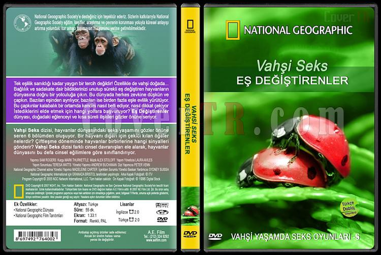 National Geographic: Vahşi Seks 5 - Eş Değiştirenler - Custom Dvd Cover - English [2007]-national-geographic-vahsi-seks-5-es-degistirenlerjpg