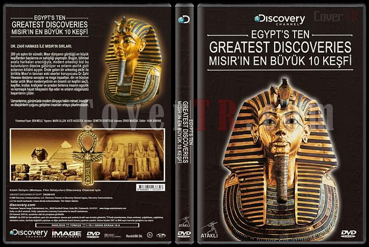 Discovery:Egypt's Ten Greatest Discoveries (Mısır'ın En Büyük 10 Keşfi) - Custom Dvd Cover - Türkçe [2008]-discovery-misirin-en-buyuk-10-kesfijpg