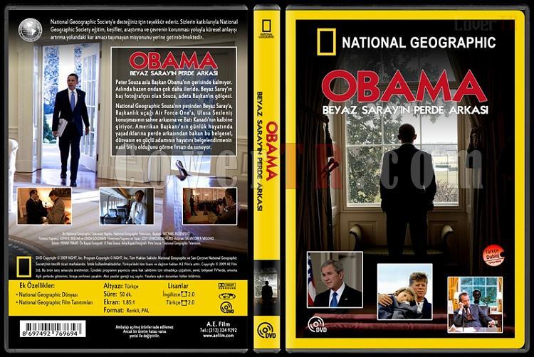 National Geographic: The Obama White House Through The Lens (Obama Beyaz Saray'ın Perde Arkası) - Custom Dvd Cover - Türkçe [2009]-national-geographic-obama-beyaz-sarayin-perde-arkasijpg