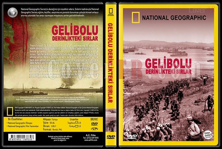National Geographic: Gallipoli's Deep Secrets (Gelibolu Derinlikteki Sırlar) - Custom Dvd Cover - Türkçe [2006]-national-geographic-gelibolu-derinlikteki-sirlarjpg