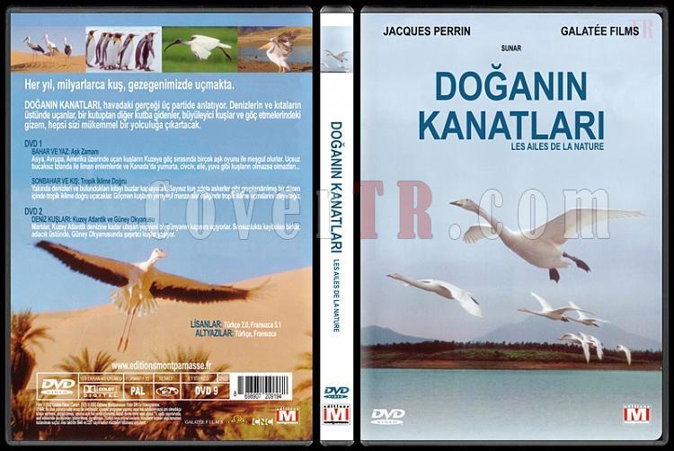 Les Ailes De La Nature (Doğanın Kanatları) - Custom Dvd Cover - Türkçe [2002]-doganin-kanatlari-les-ailes-de-la-naturejpg