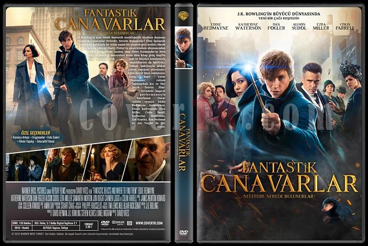 Fantastic Beasts and Where to Find Them (Fantastik Canavarlar Nelerdir, Nerede Bulunurlar?) - Custom Dvd Cover - Türkçe [2016]-fantastikcanavarlarnelerdirneredebulunurlarjpg