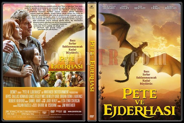 Pete's Dragon (Pete ve Ejderhası) - Custom Dvd Cover - Türkçe [2016]-standardjpg