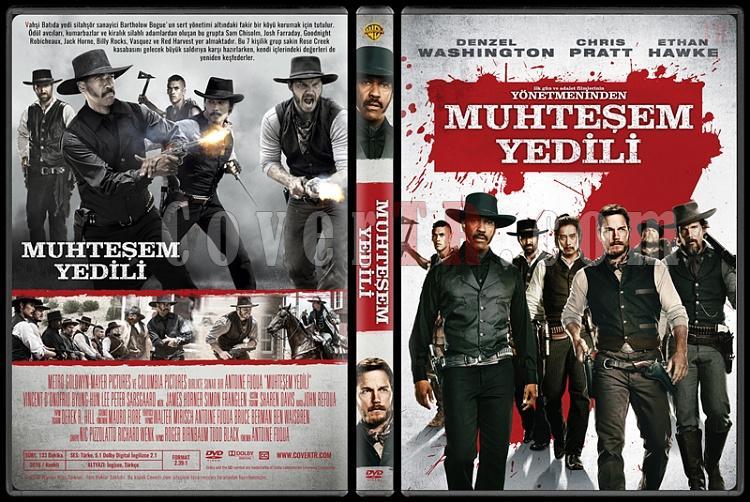 The Magnificent Seven (Muhteşem Yedili) - Custom Dvd Cover - Türkçe [2016]-standardb2jpg