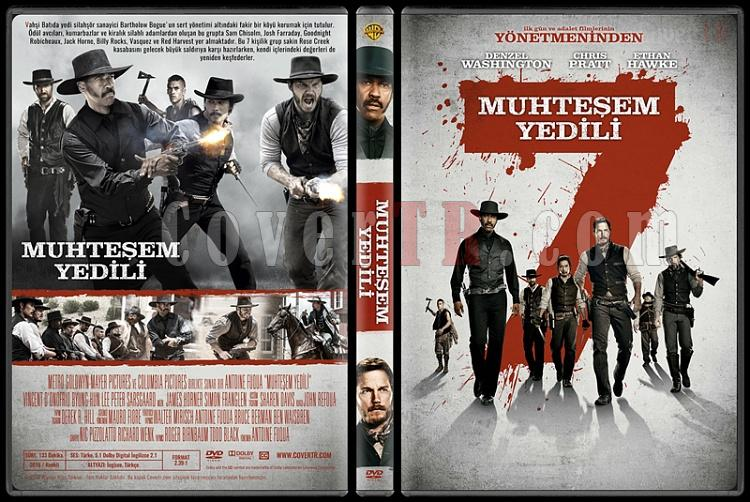 The Magnificent Seven (Muhteşem Yedili) - Custom Dvd Cover - Türkçe [2016]-standardjpg