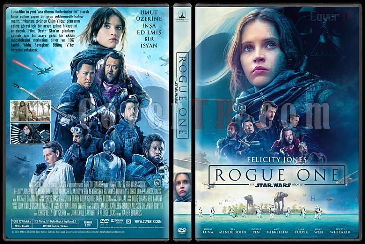 Rogue One: A Star Wars Story (Rogue One: Bir Star Wars Hikayesi) - Custom Dvd Cover - Türkçe [2016]-standardjpg
