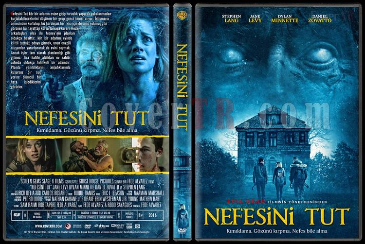 Don't Breathe (Nefesini Tut) - Custom Dvd Cover - Türkçe [2016]-standardjpg