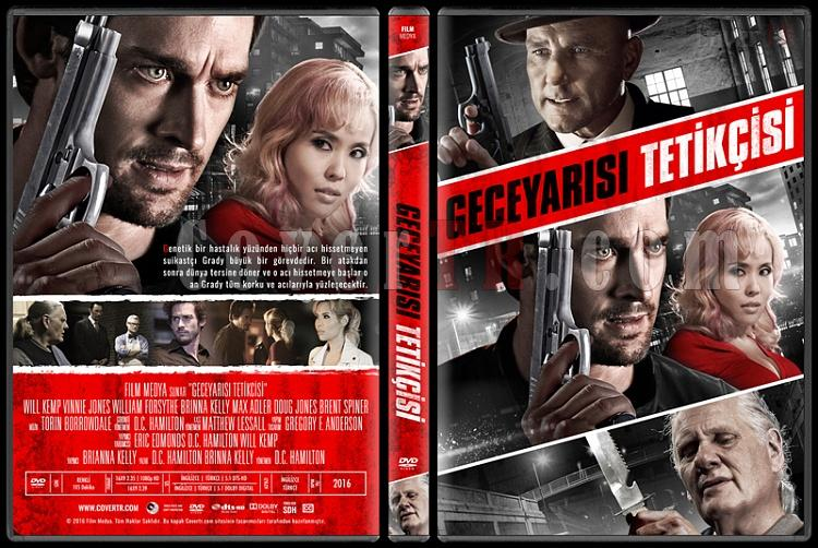 The Midnight Man (Geceyarısı Tetikçisi) - Custom Dvd Cover - Türkçe [2016]-standardjpg