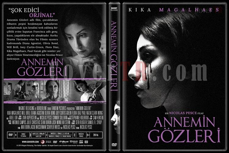The Eyes of My Mother (Annemin Gözleri) - Custom Dvd Cover - Türkçe [2016]-standardjpg