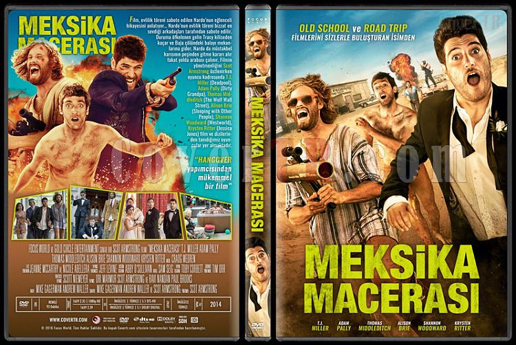 Search Party (Meksika Macerası) - Custom Dvd Cover - Türkçe [2014]-standardjpg