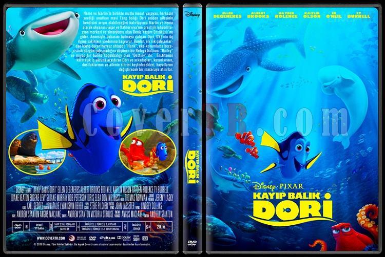 Finding Dory (Kayıp Balık Dori) - Custom Dvd Cover - Türkçe [2016]-standardjpg
