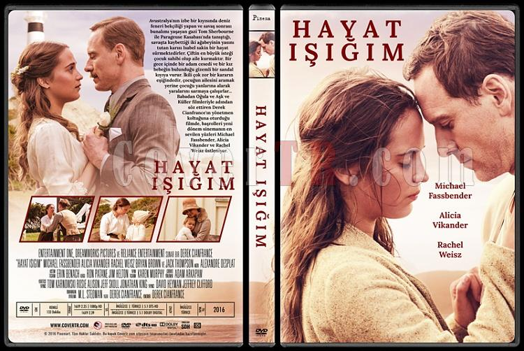 The Light Between Oceans (Hayat Işığım) - Custom Dvd Cover - Türkçe [2016]-standardjpg