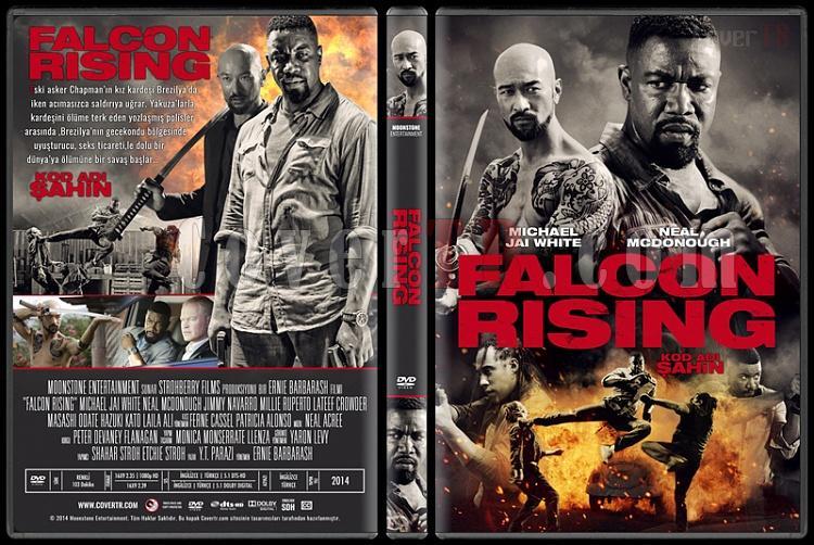 Falcon Rising (Kod Adı Şahin) - Custom Dvd Cover - Türkçe [2014]-standardjpg