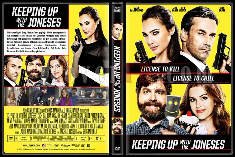 Keeping Up with the Joneses - Custom Dvd Cover - Türkçe [2016]-standard2jpg