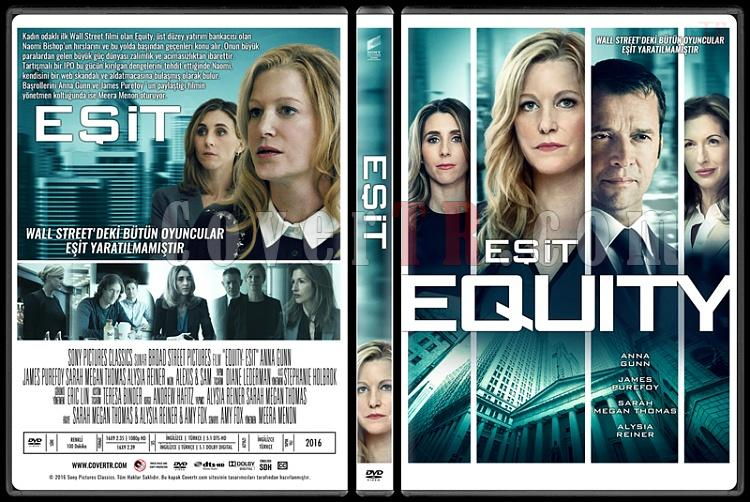 Equity (Eşit) - Custom Dvd Cover - Türkçe [2016]-standardjpg