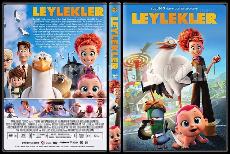 Storks (Leylekler) - Custom Dvd Cover - Türkçe [2016]-standardjpg