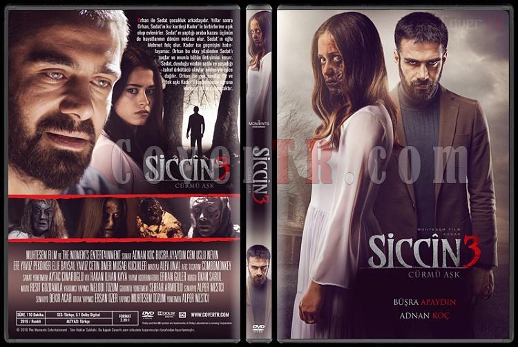 Siccin 3: Cürmü Aşk - Custom Dvd Cover - Türkçe [2016]-standardjpg