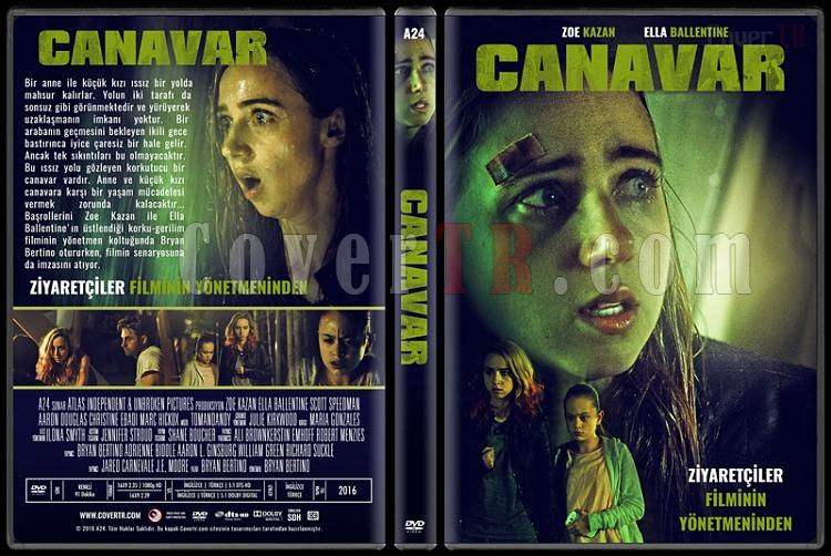 The Monster (Canavar) - Custom Dvd Cover - Türkçe [2016]-standardjpg