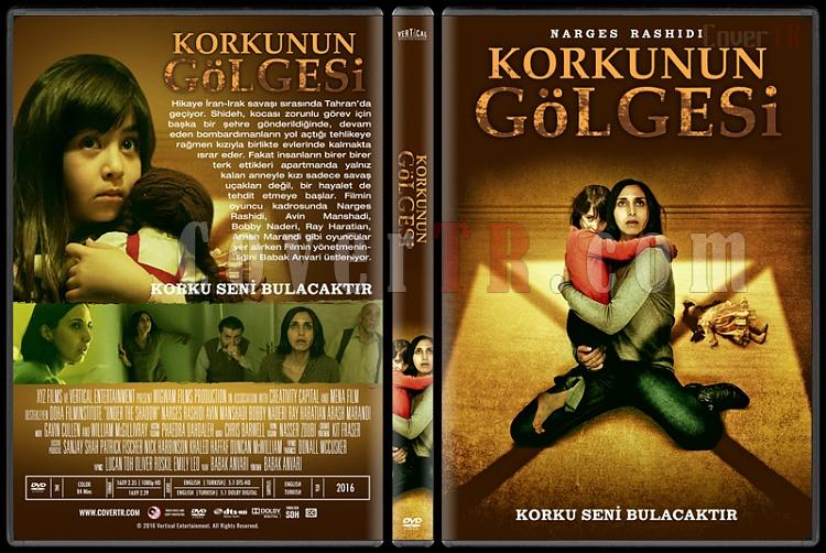 Under the Shadow (Korkunun Gölgesi) - Custom Dvd Cover - Türkçe [2016]-standardjpg