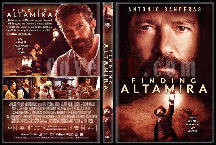 Finding Altamira - Custom Dvd Cover - Türkçe [2016]-trjpg