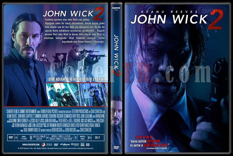 John Wick 2 - Custom Dvd Cover - Türkçe [2017]-standardjpg