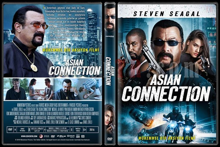 The Asian Connection - Custom Dvd Cover - Türkçe [2016]-standardjpg
