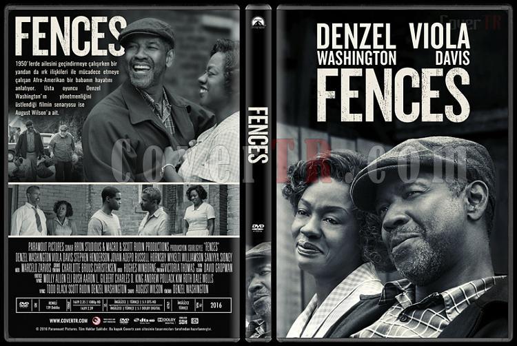 Fences - Custom Dvd Cover - Türkçe [2016]-standardjpg