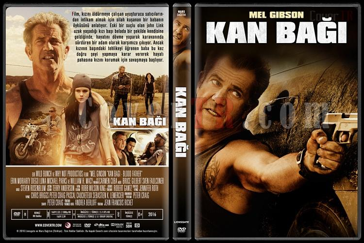 Blood Father (Kan Bağı) - Custom Dvd Cover - Türkçe [2016]-standardjpg