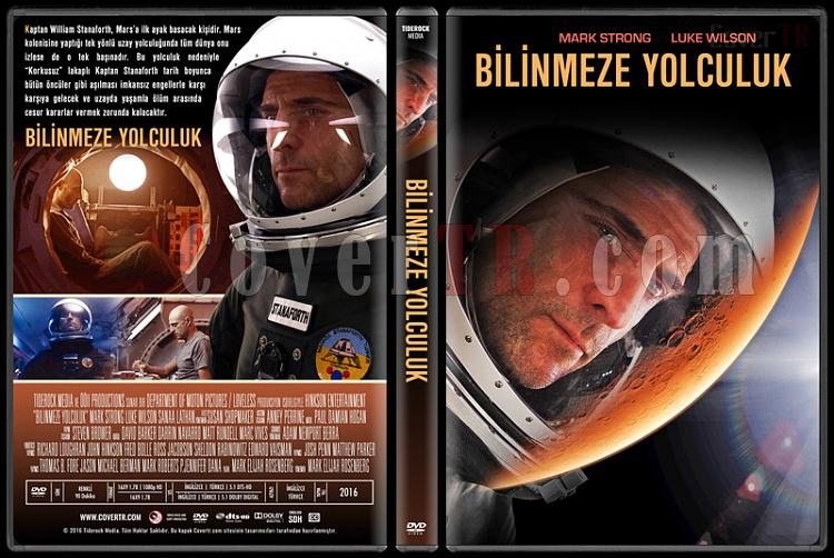 Approaching the Unknown (Bilinmeze Yolculuk) - Custom Dvd Cover - Türkçe [2016]-standardjpg