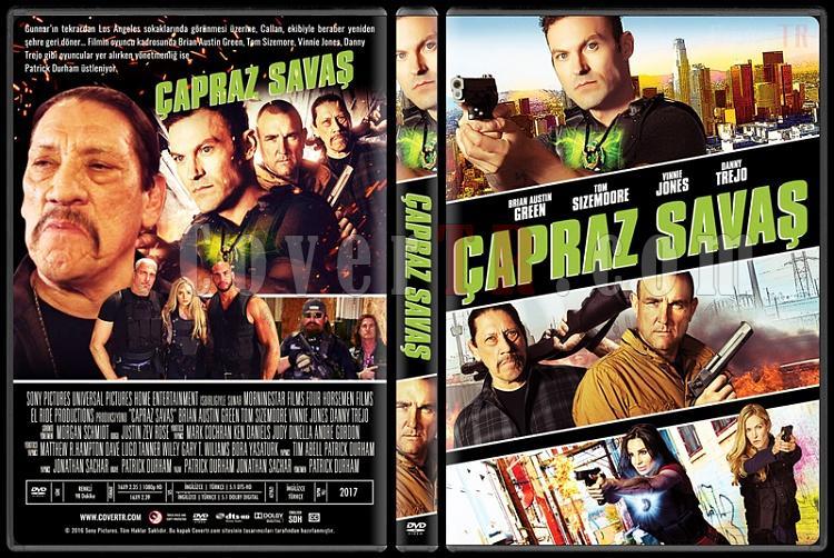 Cross Wars (Çapraz Savaş) - Custom Dvd Cover - Türkçe [2017]-standardjpg