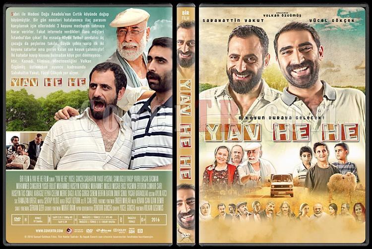 Yav He He - Custom Dvd Cover - Türkçe [2015]-standardjpg