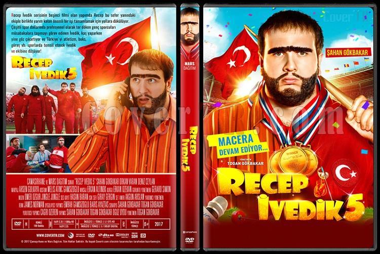 Recep İvedik 5 - Custom Dvd Cover - Türkçe [2017]-standardjpg