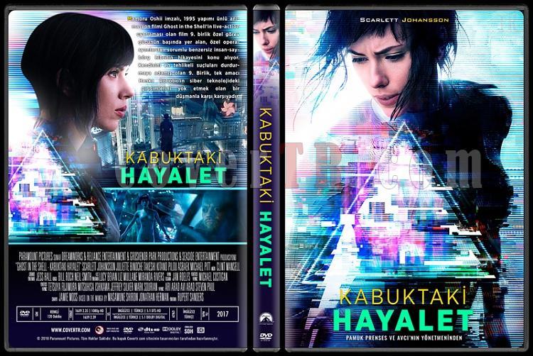 Ghost in the Shell (Kabuktaki Hayalet) - Custom Dvd Cover - Türkçe [2017]-1jpg