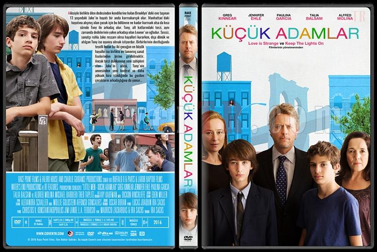 Little Men (Küçük Adamlar) - Custom Dvd Cover - Türkçe [2016]-standardjpg