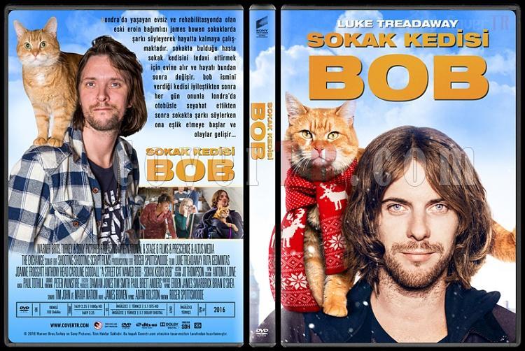 A Street Cat Named Bob (Sokak Kedisi Bob) - Custom Dvd Cover - Türkçe [2016]-standardjpg